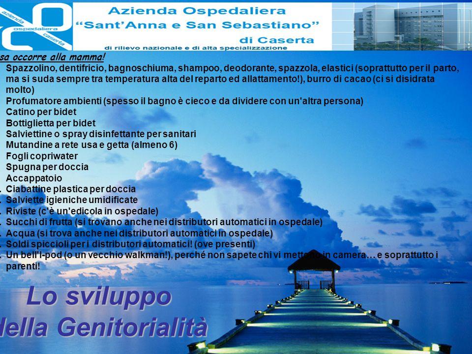 Lo sviluppo della Genitorialità