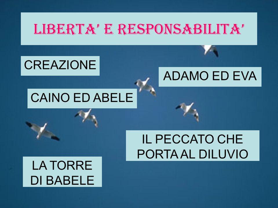 LIBERTA' E RESPONSABILITA'