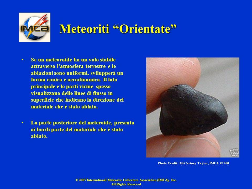 Meteoriti Orientate