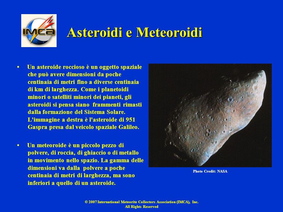 Asteroidi e Meteoroidi