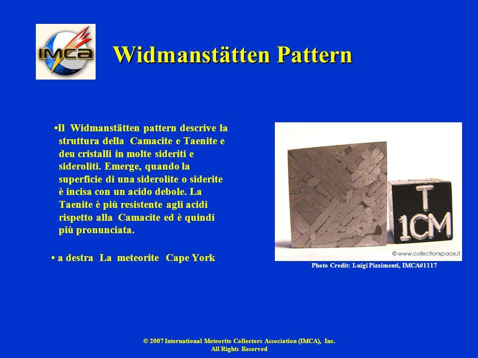 Widmanstätten Pattern