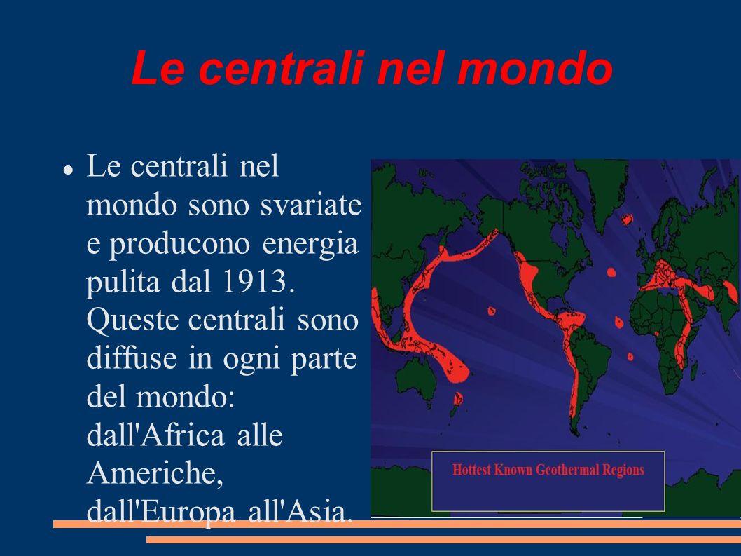 Le centrali nel mondo
