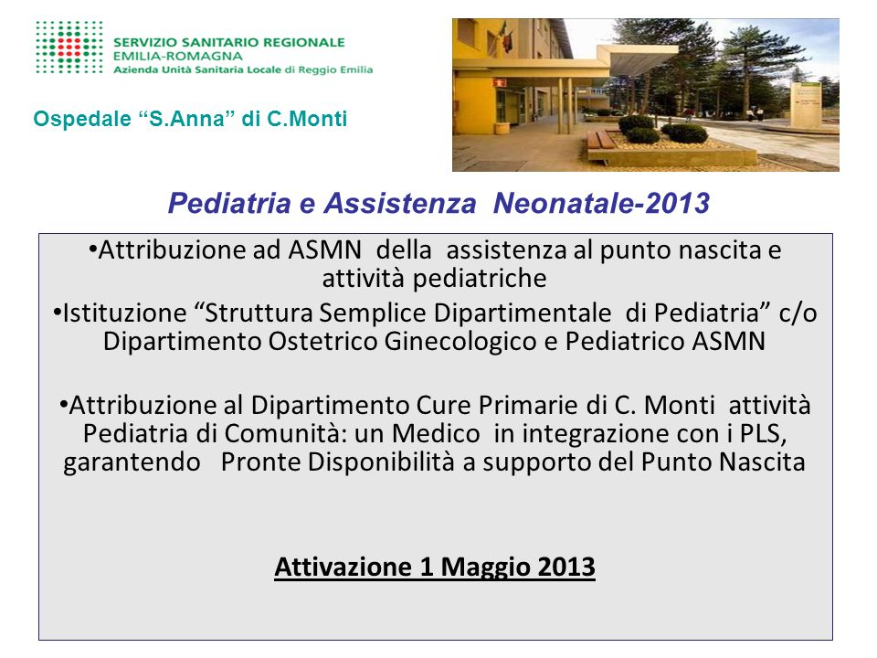 Pediatria e Assistenza Neonatale-2013