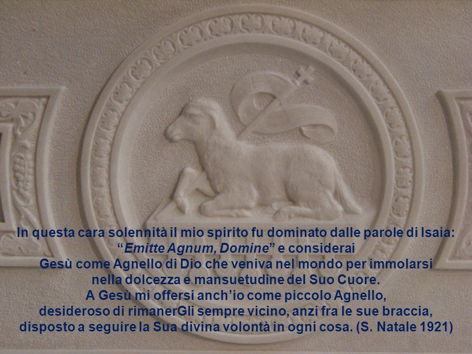 Emitte Agnum, Domine e considerai