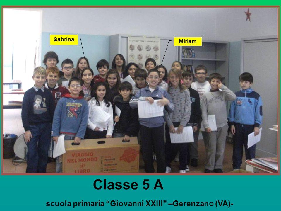 scuola primaria Giovanni XXIII –Gerenzano (VA)-