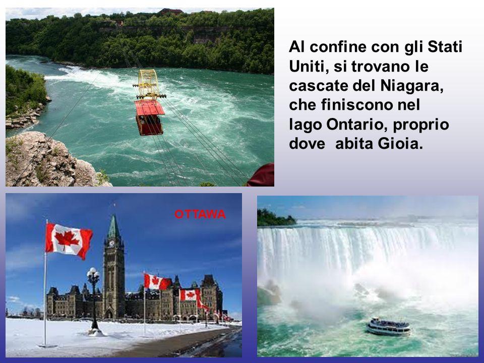 lago Ontario, proprio dove abita Gioia.