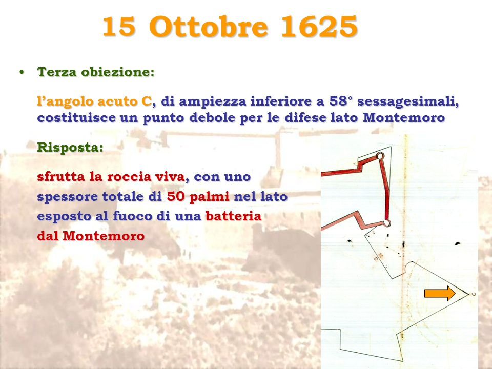 Ottobre 1625 15 Terza obiezione: