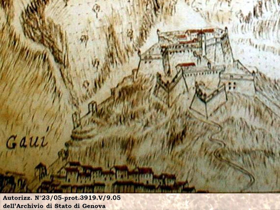 Autorizz. N°23/05-prot.3919.V/9.05 dell'Archivio di Stato di Genova