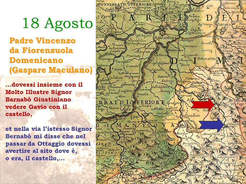 18 Agosto 1625 Padre Vincenzo da Fiorenzuola Domenicano