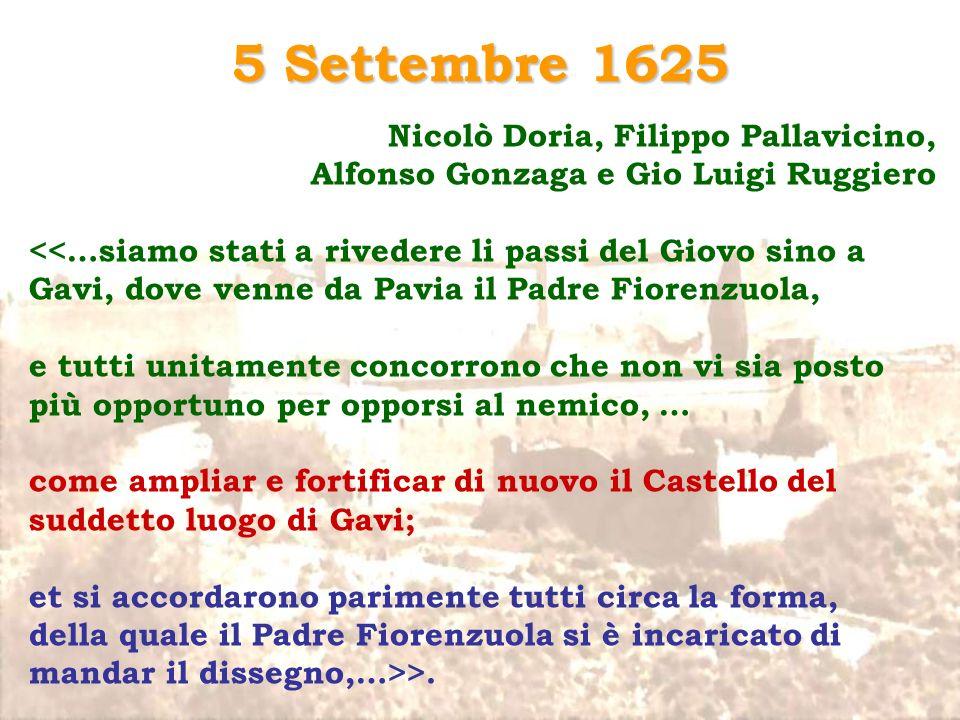5 Settembre 1625 Nicolò Doria, Filippo Pallavicino,