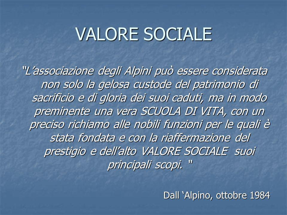 VALORE SOCIALE