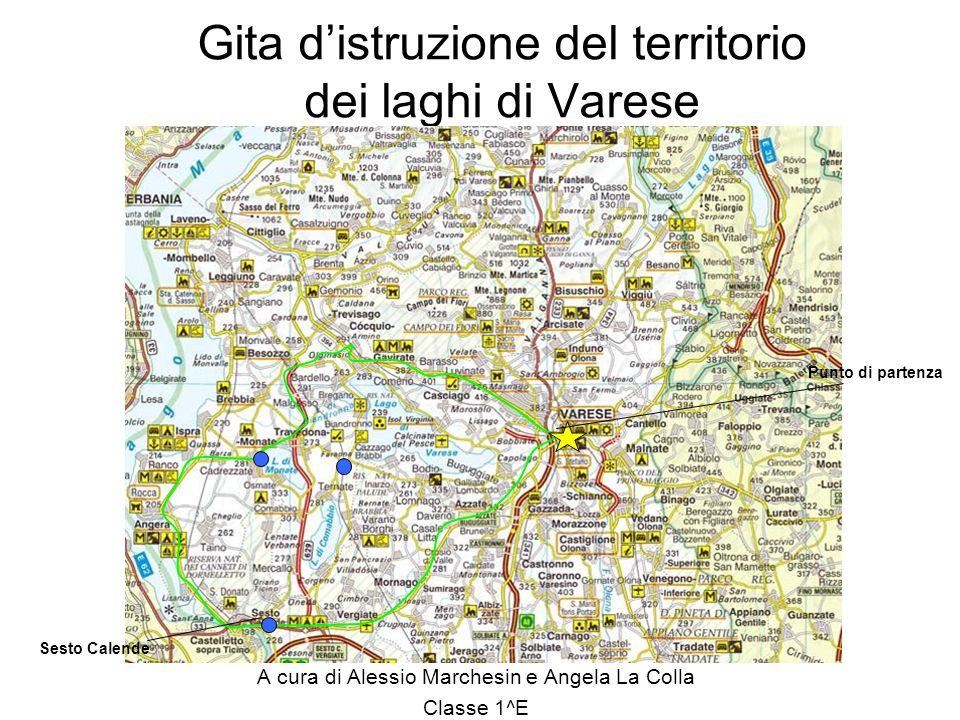 Gita d'istruzione del territorio dei laghi di Varese