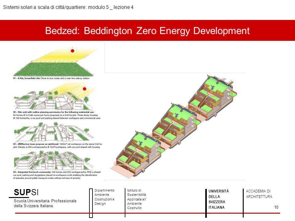 Bedzed: Beddington Zero Energy Development