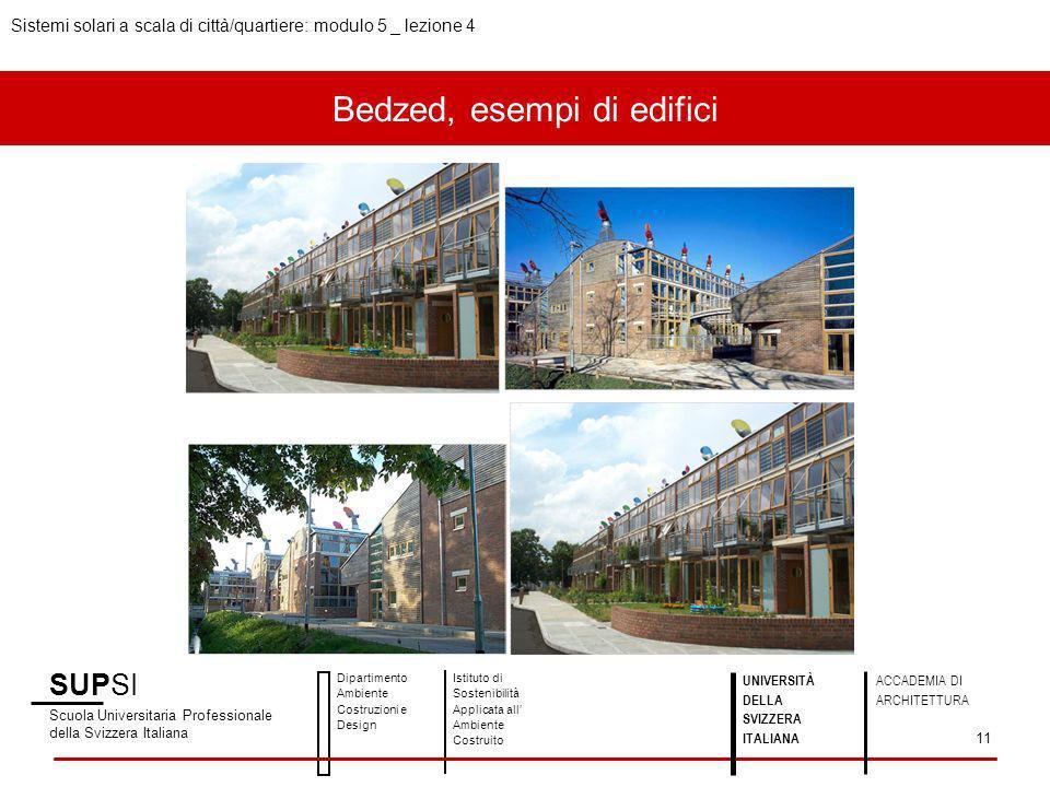 Bedzed, esempi di edifici