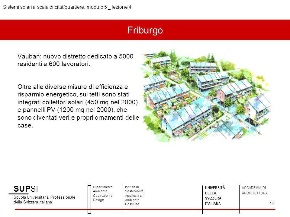 Sistemi solari a scala di città/quartiere: modulo 5 _ lezione 4