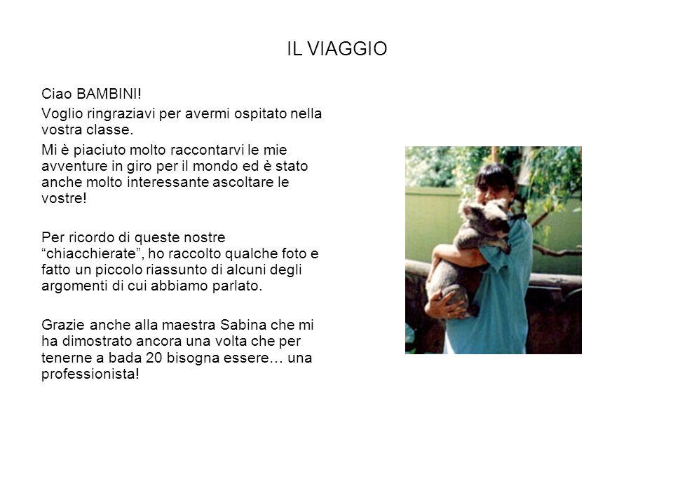 IL VIAGGIO Ciao BAMBINI!