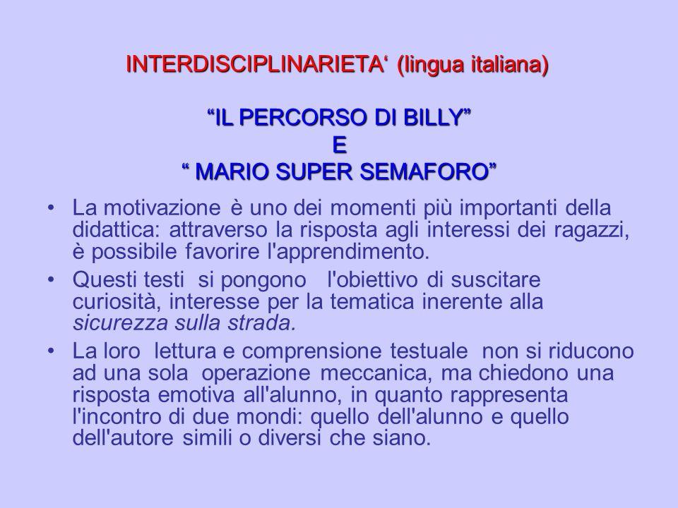 INTERDISCIPLINARIETA' (lingua italiana)