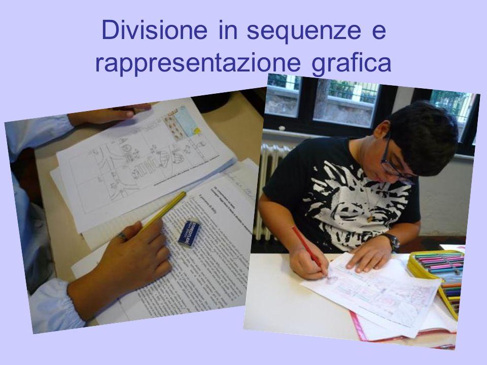 Divisione in sequenze e rappresentazione grafica