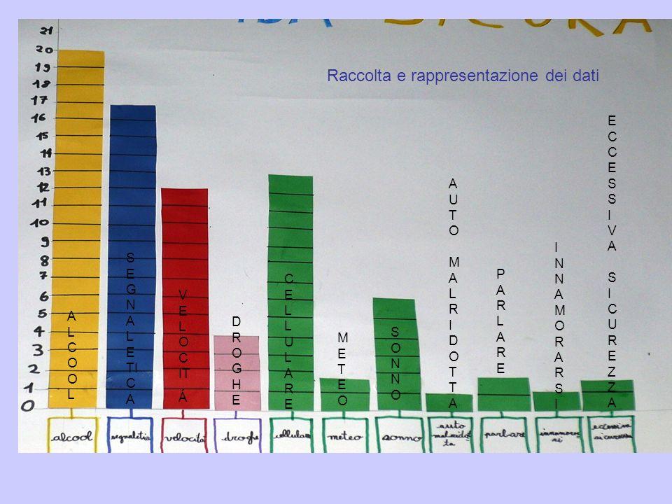 Raccolta e rappresentazione dei dati