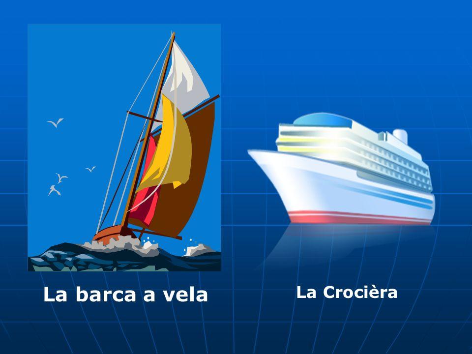 La barca a vela La Crocièra