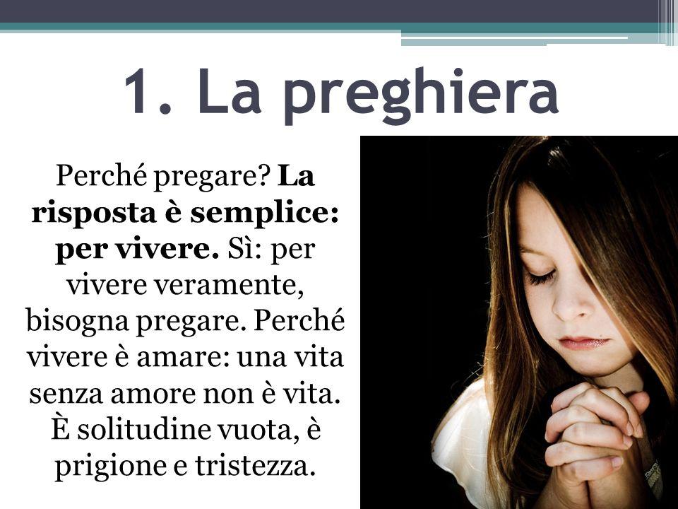 1. La preghiera