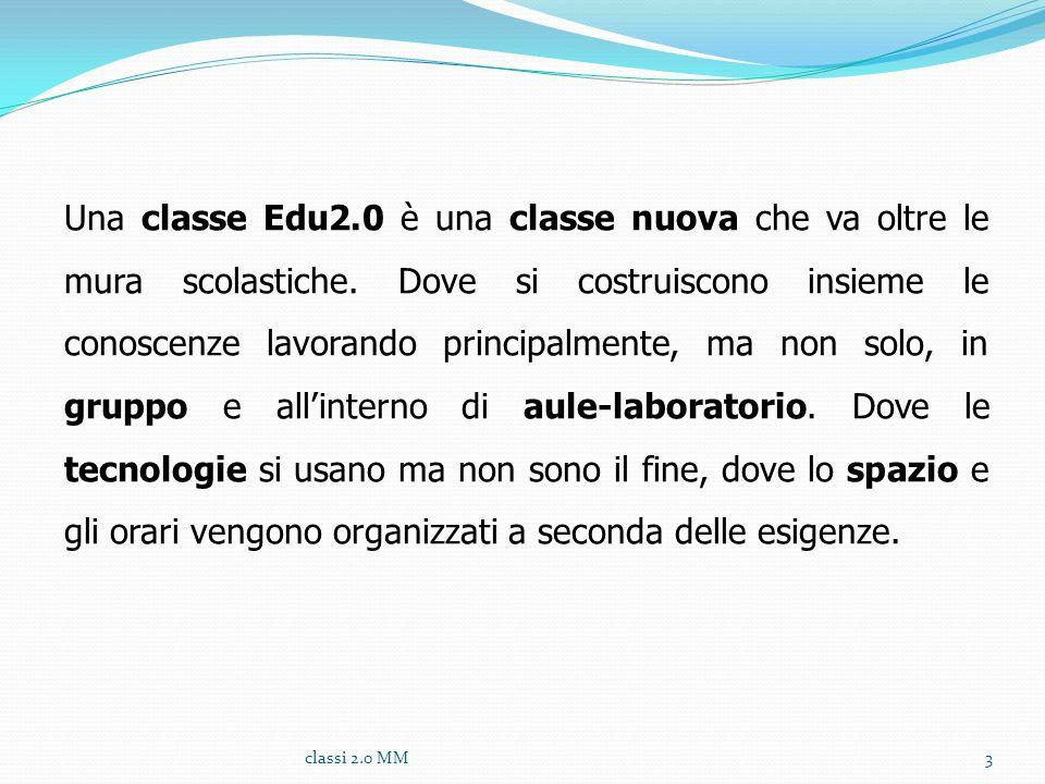 Una classe Edu2. 0 è una classe nuova che va oltre le mura scolastiche