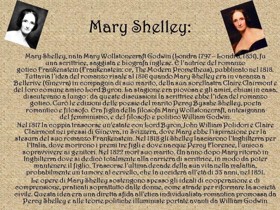 Mary Shelley: