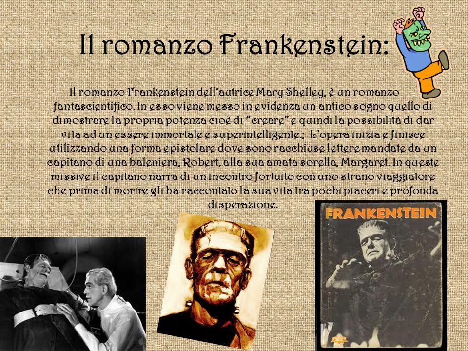 Il romanzo Frankenstein: