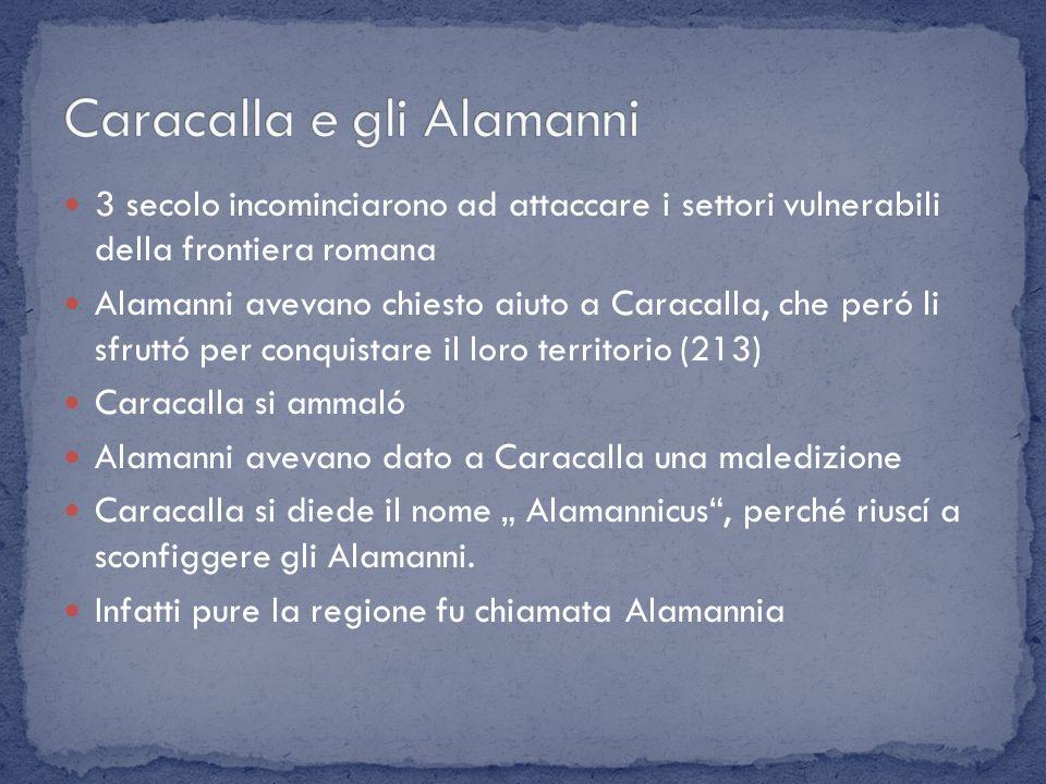Caracalla e gli Alamanni