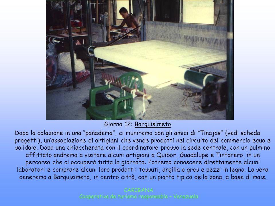 Cooperativa de turismo responsable – Venezuela