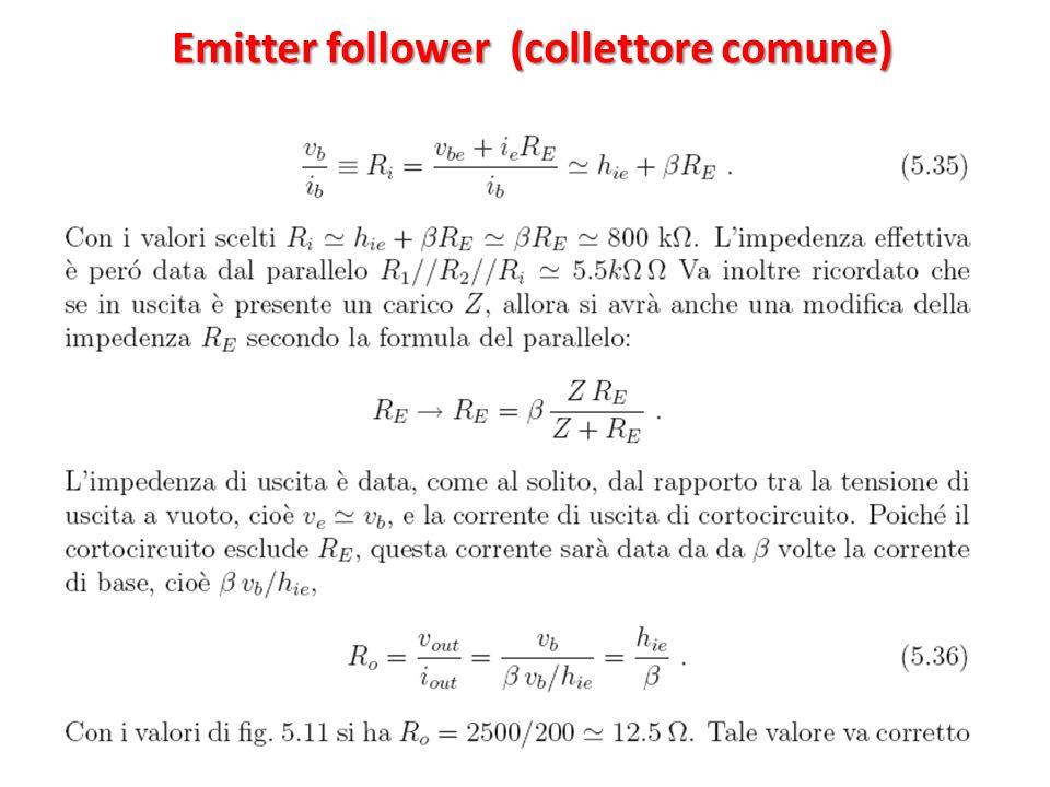 Emitter follower (collettore comune)