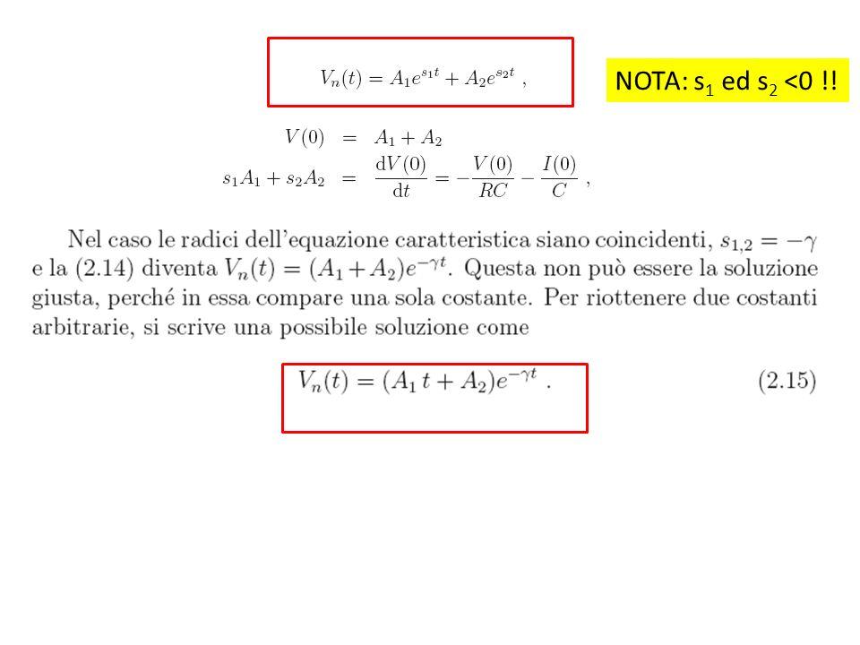 NOTA: s1 ed s2 <0 !!