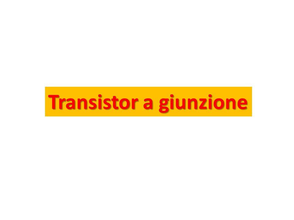 Transistor a giunzione