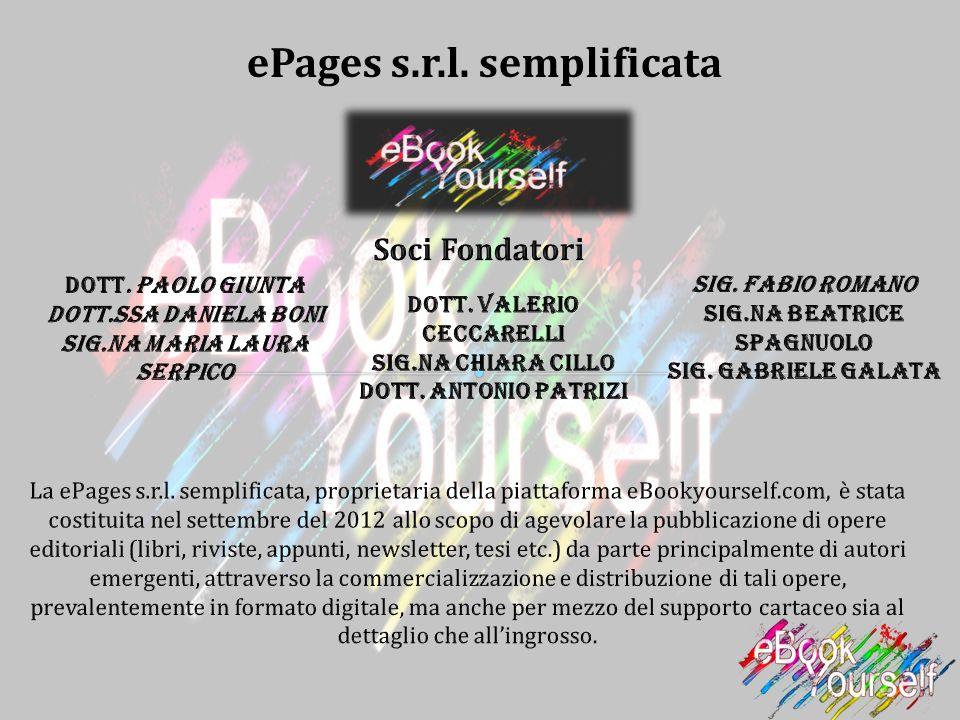 ePages s.r.l. semplificata