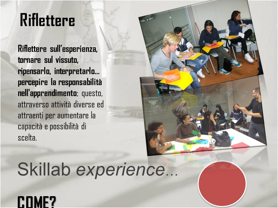 Skillab experience… COME