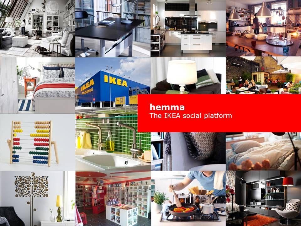 hemma The IKEA social platform