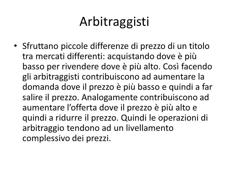 Arbitraggisti