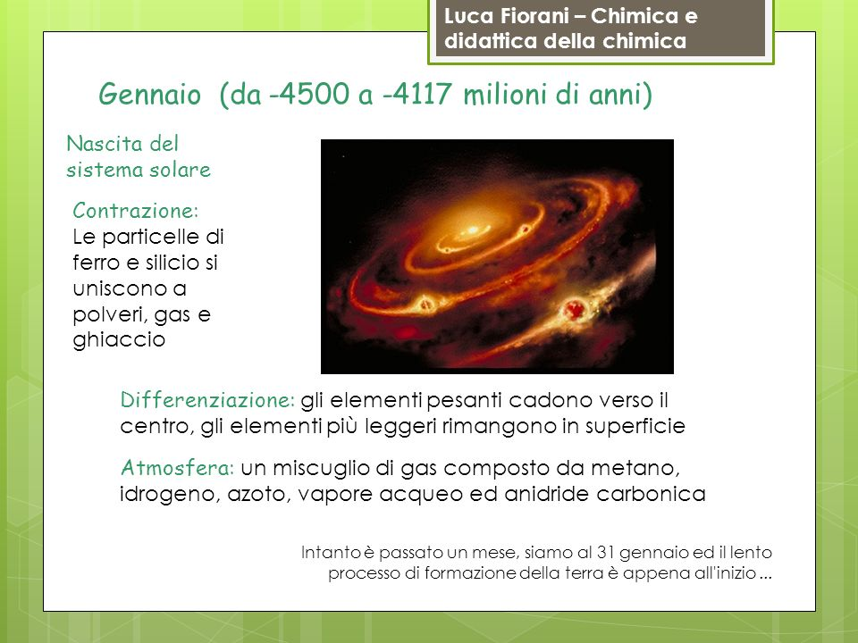 Gennaio (da -4500 a -4117 milioni di anni)