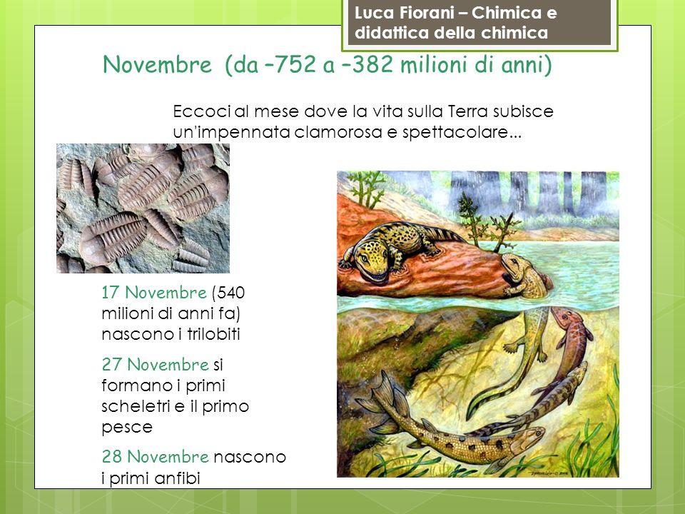 Novembre (da –752 a –382 milioni di anni)