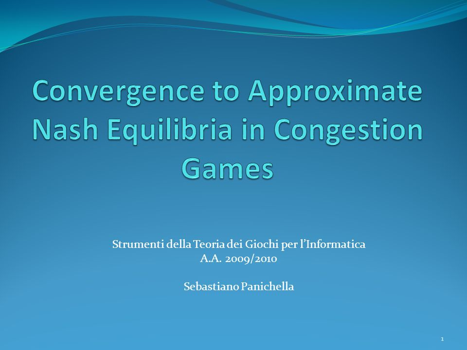 Convergence to Approximate Nash Equilibria in Congestion Games