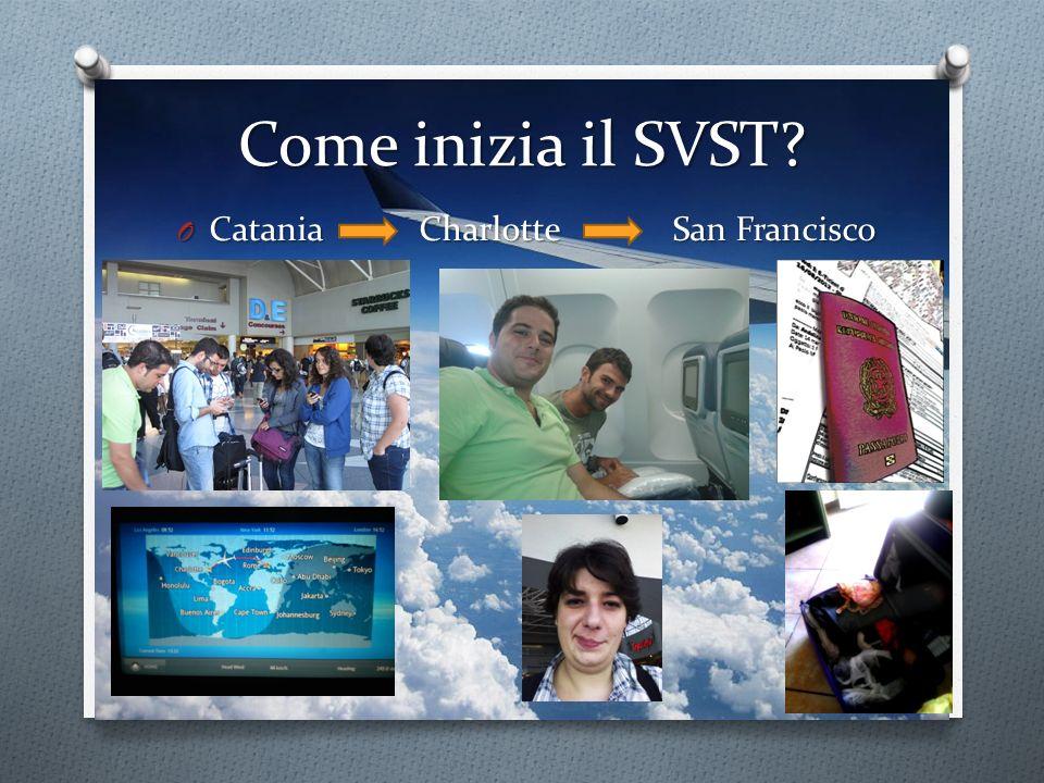 Come inizia il SVST Catania Charlotte San Francisco