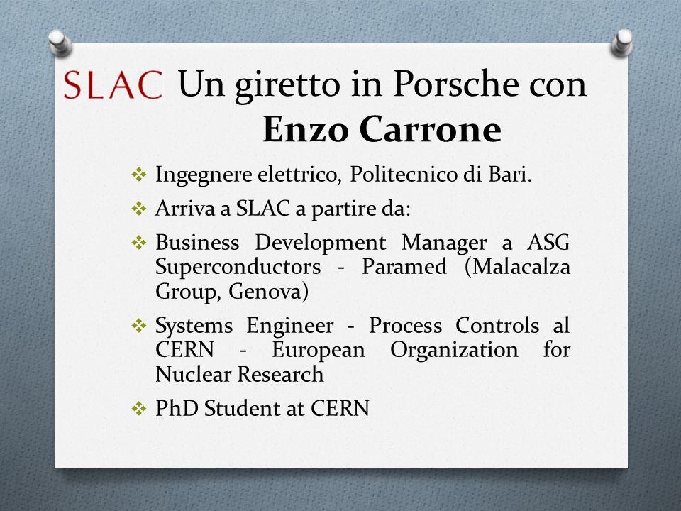 Un giretto in Porsche con Enzo Carrone