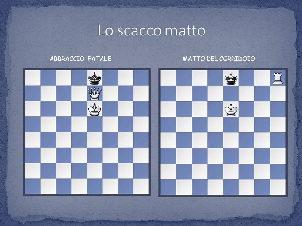Lo scacco matto ABBRACCIO FATALE MATTO DEL CORRIDOIO