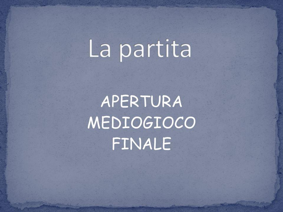 APERTURA MEDIOGIOCO FINALE