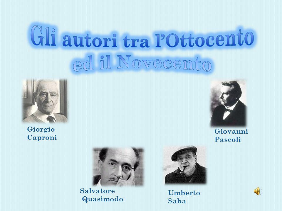 Gli autori tra l'Ottocento