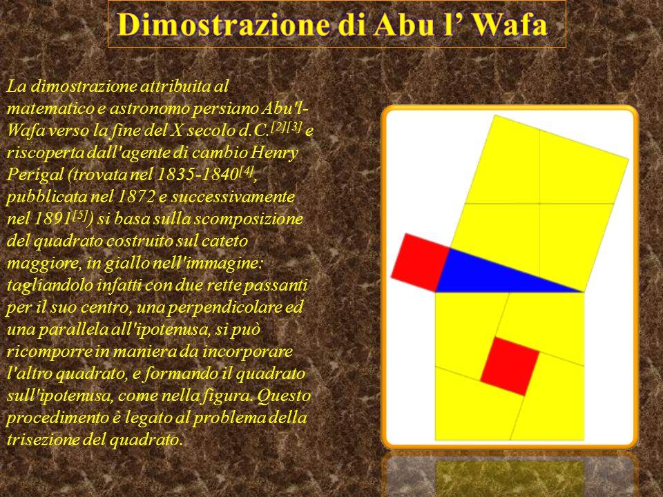 Dimostrazione di Abu l' Wafa
