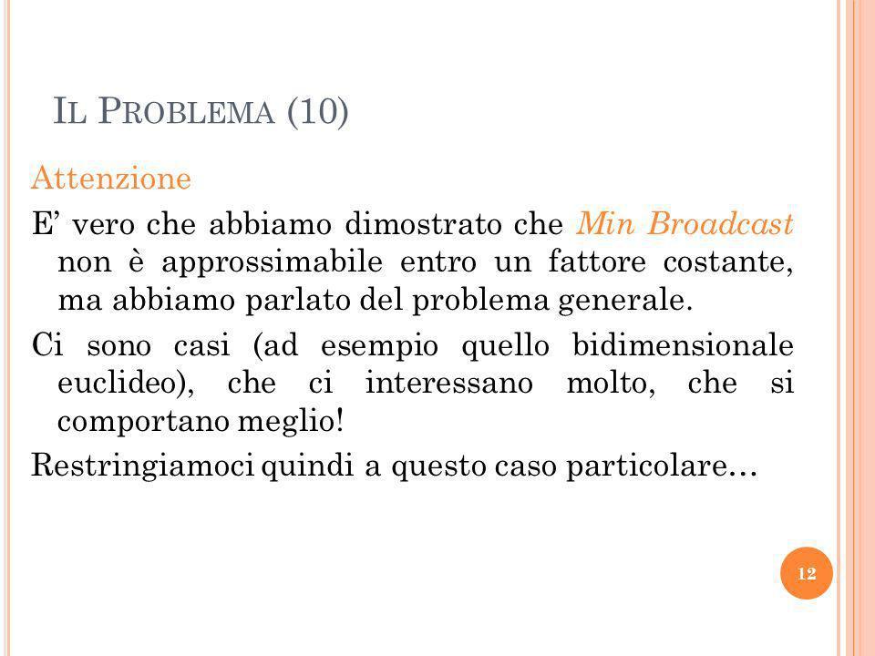 Il Problema (10)