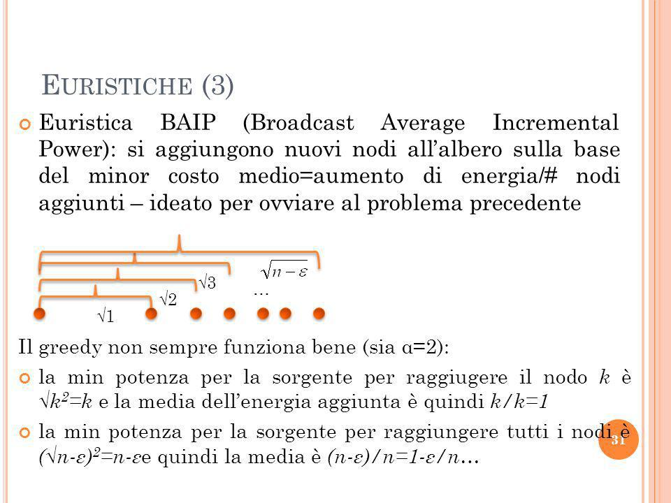Euristiche (3)