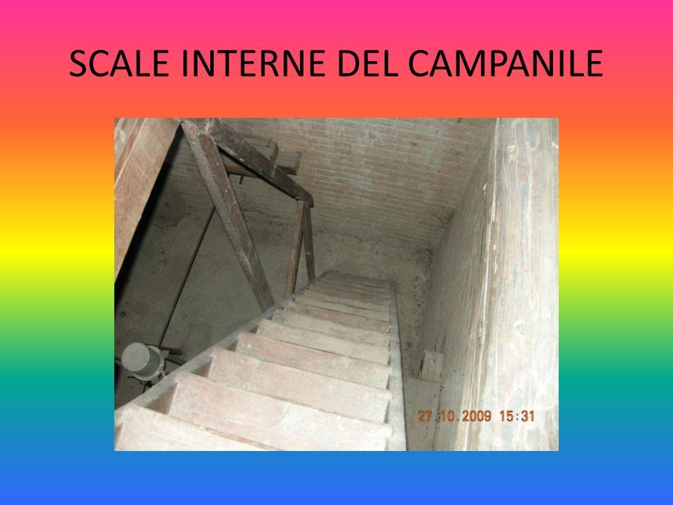 SCALE INTERNE DEL CAMPANILE