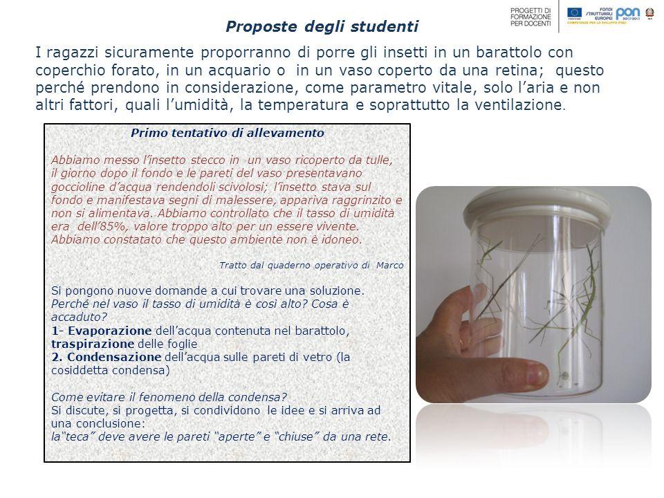 Proposte degli studenti